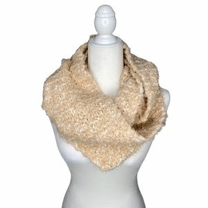 Charter club cream knit infinity scarf